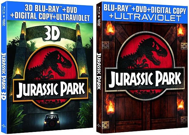 Jurassic Park 3D Bluray comes home April 23rd after its oneweek theatrical return