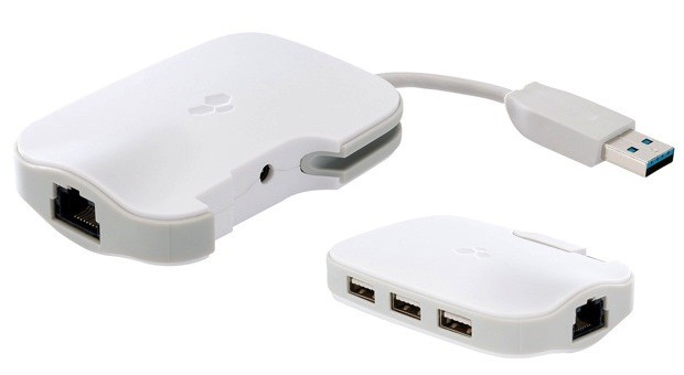 Kanex&#8217;s DualRole is a USB 3.0 hub and Ethernet adapter for modern MacBooks