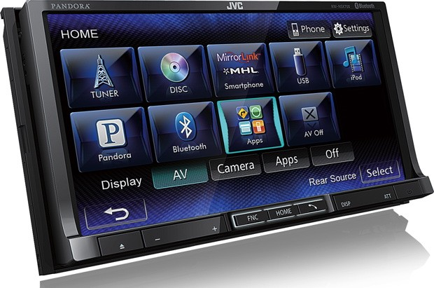 JVC launches two Mirrorlinkenabled head units at CES