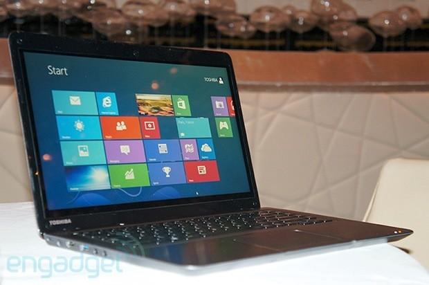 Toshiba unveils $800 Satellite U845t a touchscreen Ultrabook for the budget crowd