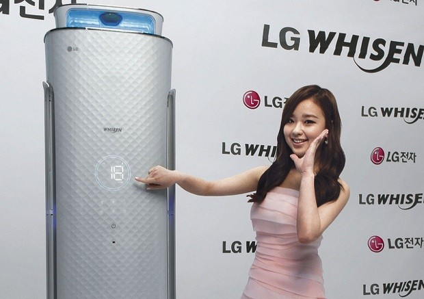 LG readies Whisen air conditioner with its own NFCaware mobile app, voice recognition