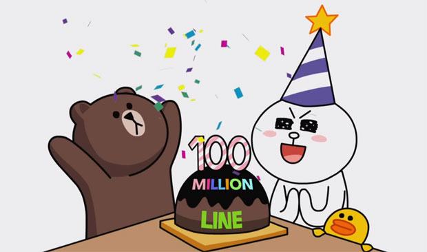 Line VoIP and instant messenger app reaches 100 million global users in 19 months
