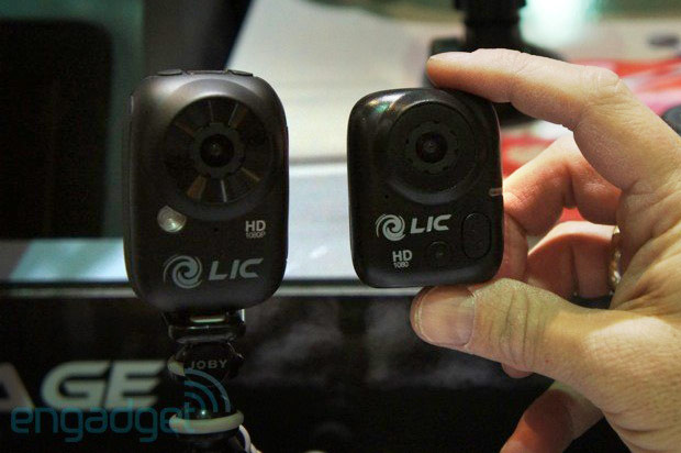 Handson with Liquid Image's Ego Mini action cam at CES Unveiled