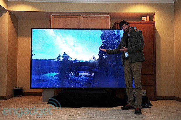 Westinghouse's 110inch 4K television is built to order, fill your living room eyeson
