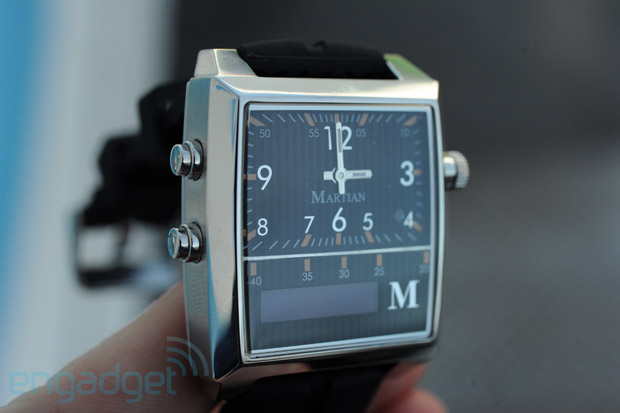 Martian Passport Watch mixes Bluetooth and class, ships by March for $299 handson