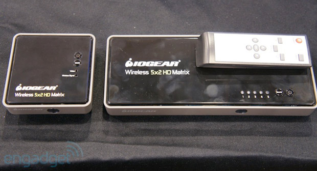 IOGEAR unveils uncompressed 1080p wireless streaming matrix switcher