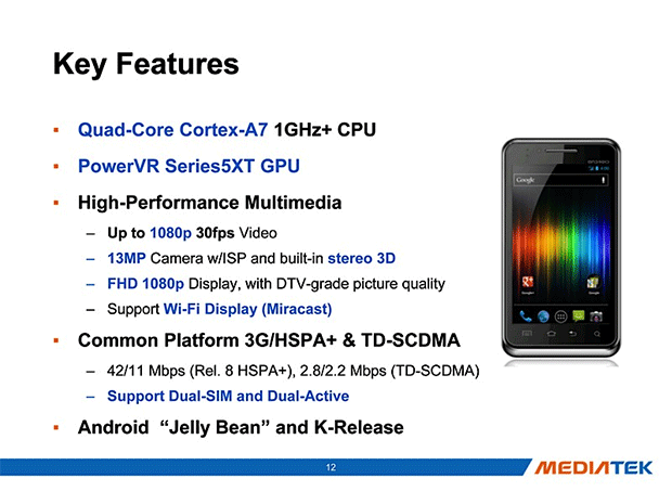 Alcatel prepping One Touch Scribe HD smartphone with quadcore MediaTek chipset
