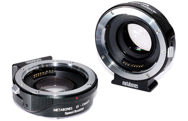 Metabones Speedbooster makes Canon EF lenses faster when mounted on NEX cameras