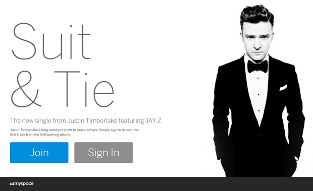 MySpace relaunches with new design and Justin Timberlake all over it