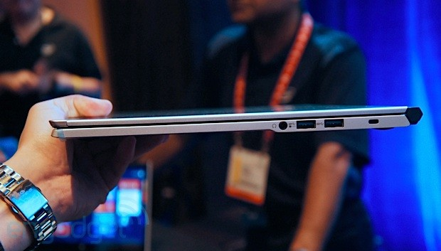 NEC shows off a superthin, 128mm thick Ultrabook, we go handson