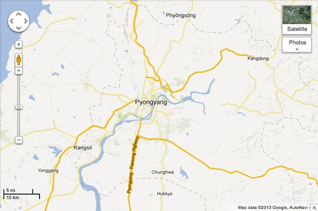 Google's newly detailed North Korea maps offer a peek into an isolated land