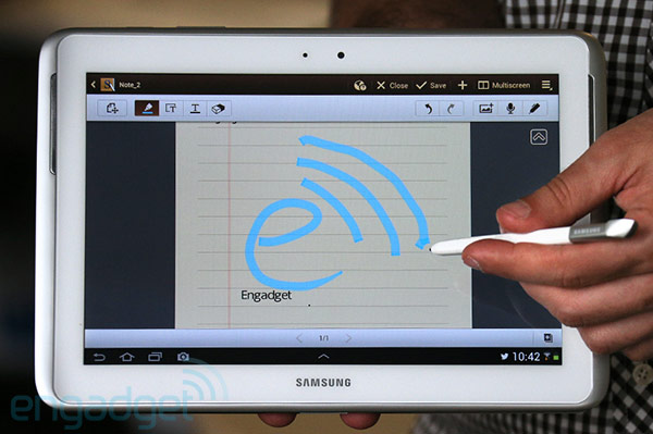Samsung Galaxy Note 101 with LTE headed for Verizon