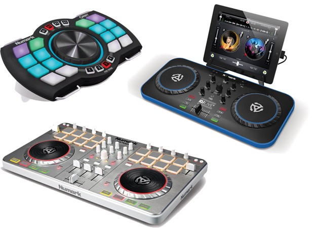 Numark refreshes iDJ Live, NS7, Mixtrack Pro DJ controllers, intros new Orbit wireless option