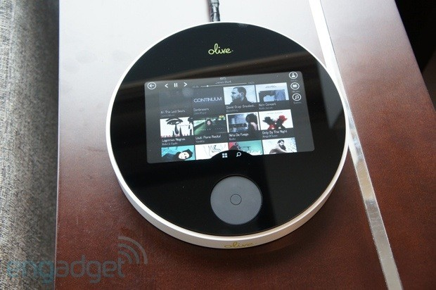 Olive One's $  400 highfidelity streaming music player, handson