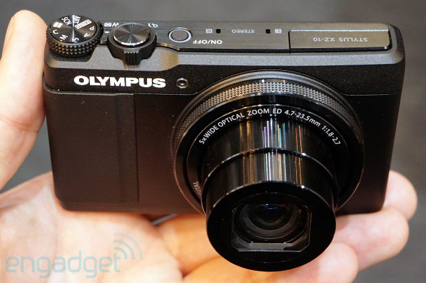 Olympus Stylus XZ10 packs control ring and PENlike AF, we go handson at CP video