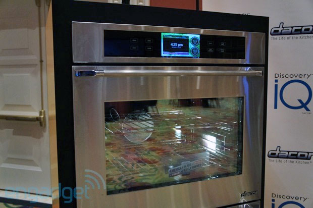 Dacor's Android oven packs 1GHz processor, 7inch screen, heat handson