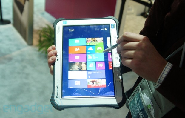 Panasonic FZG1 Windows 8 Pro and JTB1 Toughpad tablets handson