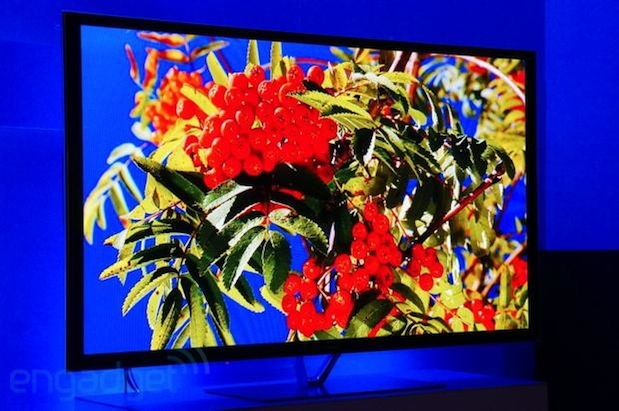 Panasonic plasma TV at CES 2013