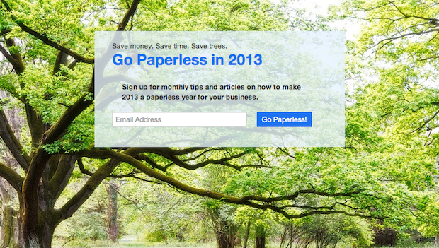 Google, HelloFax, Manilla, Fujitsu and others are behind Paperless 2013 campaign