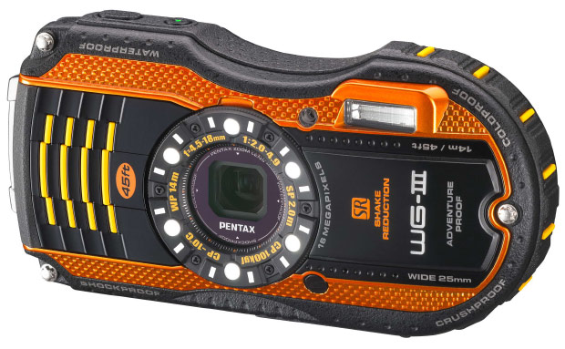 Pentax expands ruggedized series with Optio WG3, Targetexclusive WG10