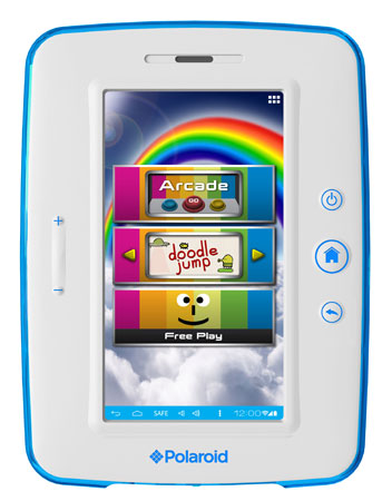 Polaroid announces 7-inch kids tablet sporting Android 4.0, looks to