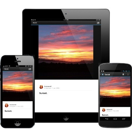 Pulse adds support for social feeds, including Instagram, Facebook and YouTube