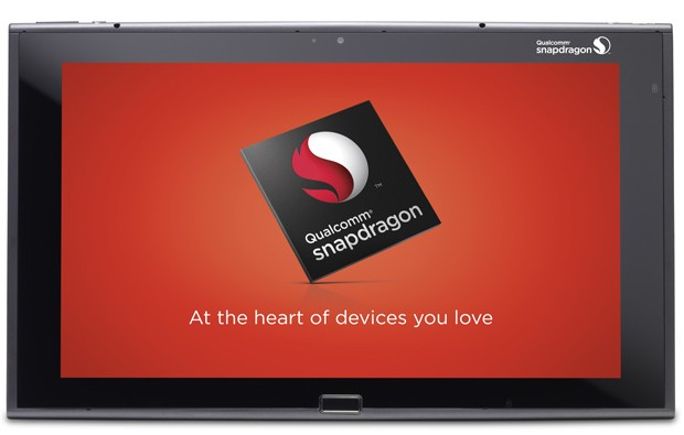 Qualcomm chip on a tablet