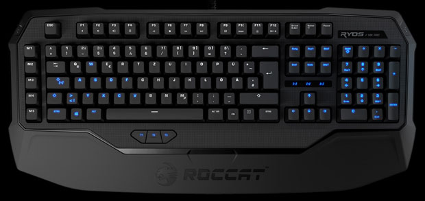 ROCCAT unveils Ryos gaming keyboard ahead of CES, individually lit keys in tow