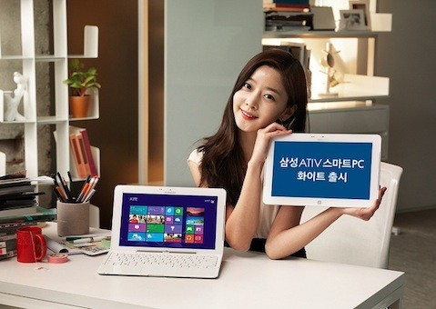 White Samsung ATIV Smart PC launches in South Korea, remains the same inside