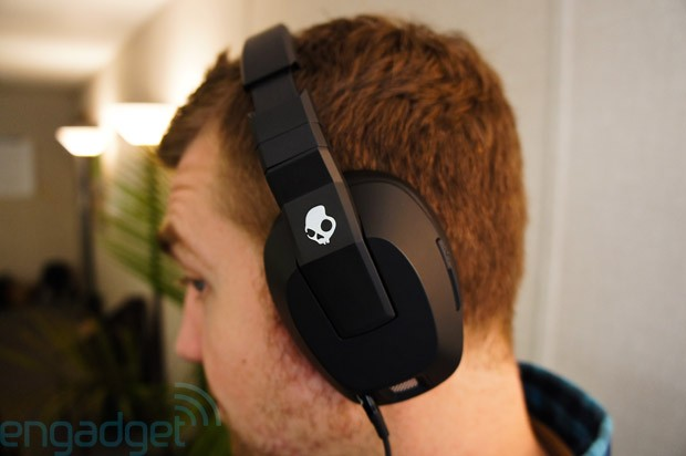 Skullcandy's Crusher earson at CES rumbling headphones that you'll actually want