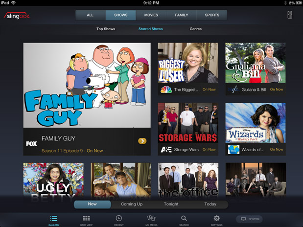 Slingboxes get My Media syncing for USB storage, Companion second screen app for iPad