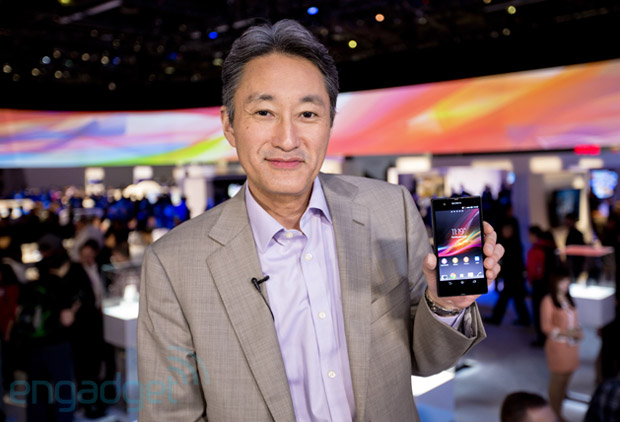 Sony CEO Kaz Hirai talks 4K, Xperia Z, death of the PS2 and more at CES 2013 video