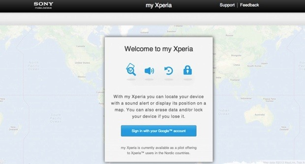Sony confirms its My Xperia smartphone recovery service, starts limited trials