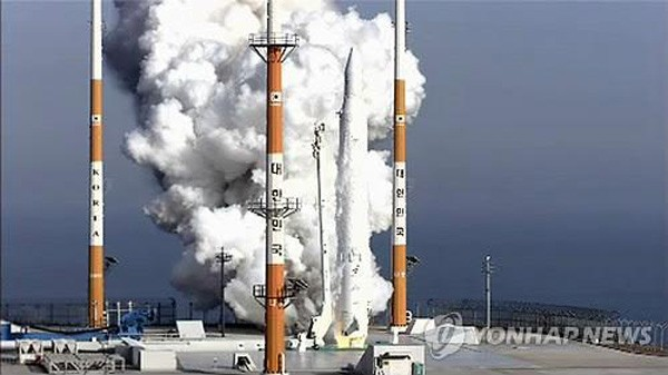 South Korea launches first native rocket and satellite into space