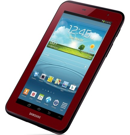 Samsung outs Garnet Red Edition Galaxy Tab 2 70 in the US, prices it at $220