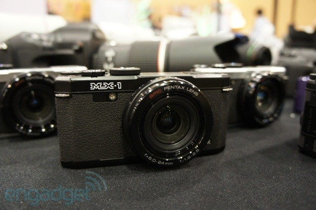 Pentax launches brassbodied MX1 pointandshoot 12MP with 4X zoom update now with handson photos