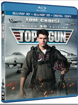 Top Gun Bluray 3D details revealed, comes gome February 19th after IMAX 3D run