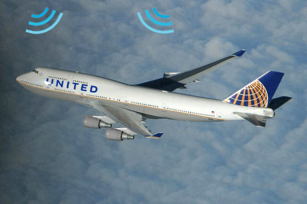 United becomes first US airline to offer overseas WiFi with satelliteequipped 747