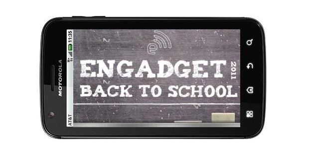Engadget's back to school guide 2011 smartphones