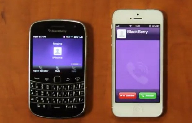 Viber overhauls BlackBerry app, promises VoIP calls are coming video