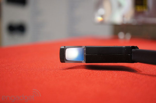 Vuzix Smart Glasses M100 handson at CES 2013