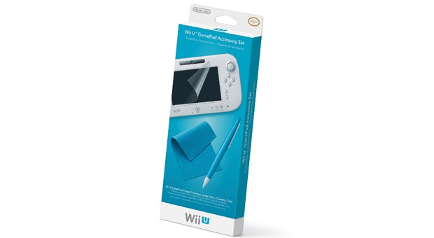 Nintendo made a fountain pen for your Wii U GamePad, as well as a screen jacket