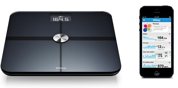 Withings new flagship Smart Body Analyzer scale now measures air quality, heart rate