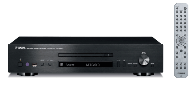Yahama's CDN500 network CD player comes to the States, priced at $800