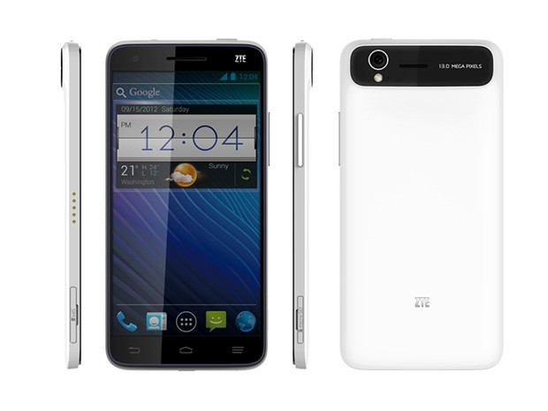 ZTE Grand S official with a 5inch screen, it's the world's thinnest 1080p smartphone