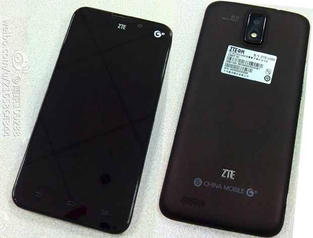 ZTE's 'affordable' U956 poses for pics, reportedly offers 5inch 720p screen, quadcore CPU, 8megapixel camera
