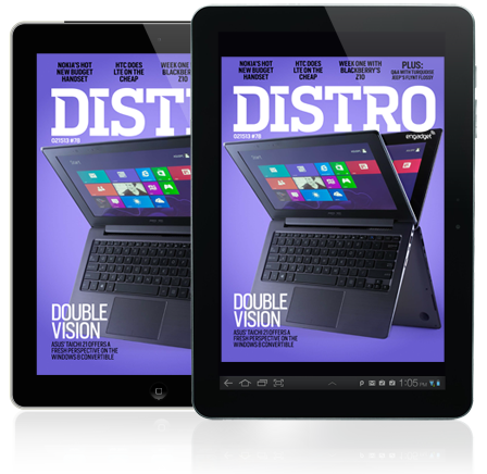 Distro Issue 78 ASUS' TAICHI 21, Nokia's Lumia 620 and a week with BlackBerry's Z10