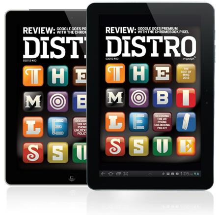 Distro Issue 80 The Mobile Issue takes on unlocking, form factors and the best of MWC 2013