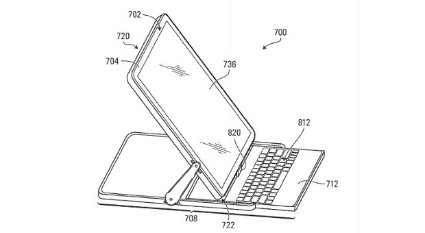 BlackBerry files patent application for 180degree hinge, redefines 'flipphone'