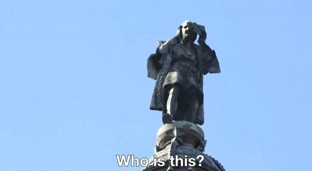 ASUS teases new PadFone MWC launch, with help from talking Christopher Columbus statue